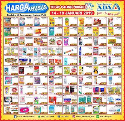 Katalog Harga ADA SWALAYAN Promo Weekday 14 - 18 Januari 2019