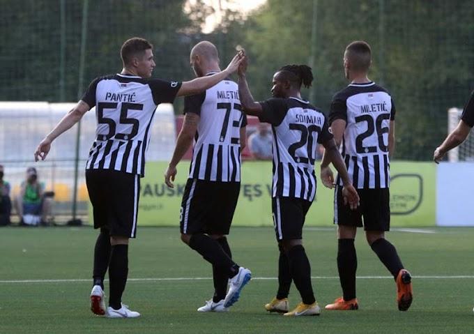 Partizan u trećem kolu kvalifikacija za Ligu Evrope! (VIDEO)