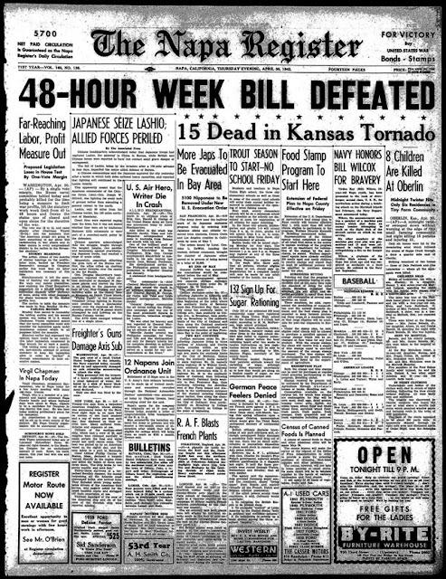Napa Register 30 April 1942 worldwartwo.filminspector.com