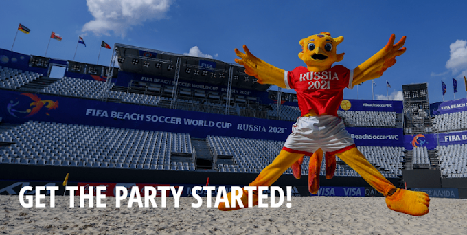 FIFA Beach Soccer World Cup GET THE PARTY STARTED