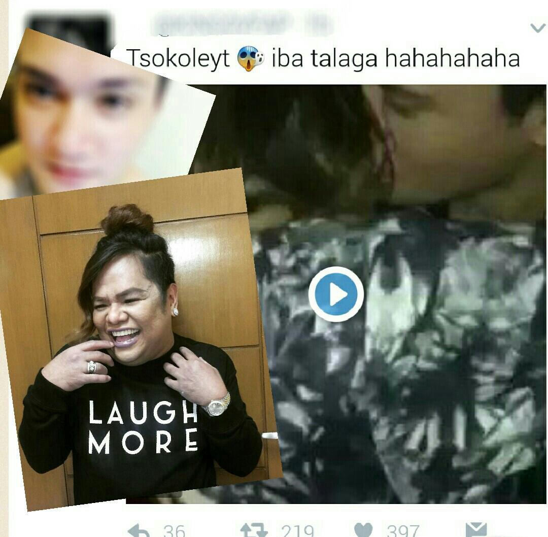Chokoleit kissing scandal video
