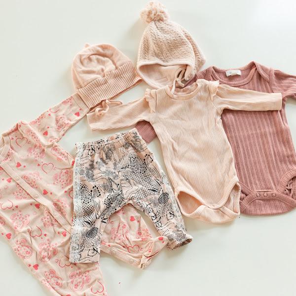 Vauvanvaatehankintoja parin päivän shoppailukierroksilta! :)