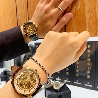 PRINCIPEWATCH プリンチペウォッチ PW8153 スケルトン 時計の機械 全透け