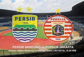 Persib Bandung vs Persija Jakarta Panas Luar Dalam