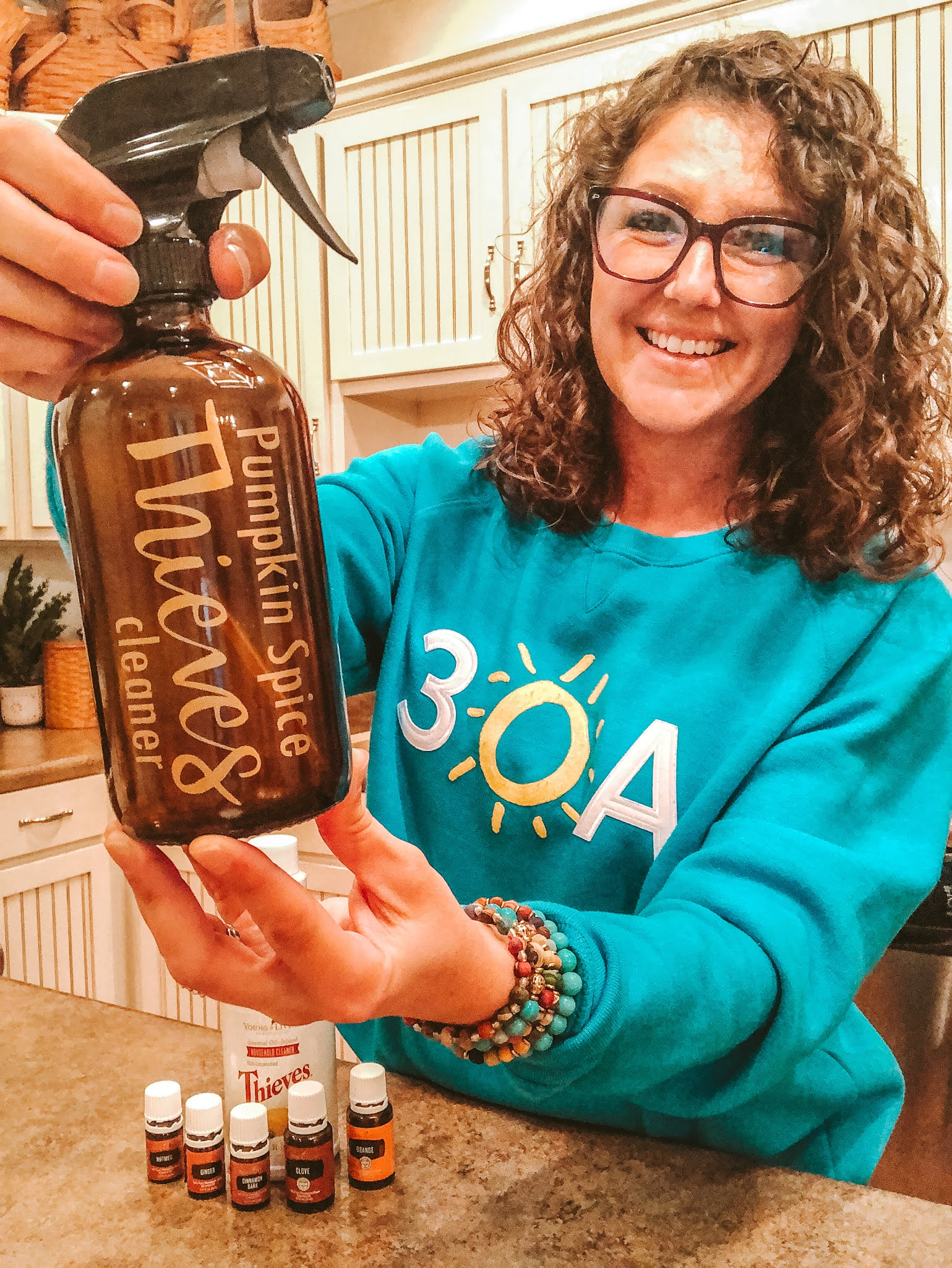 Pumpkin Spice Young Living Thieves Cleaner