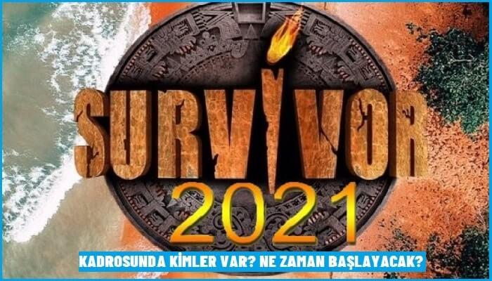 Survivor 2021 Kadrosunda Kimler Var? Survivor 2021 Ne Zaman Başlayacak?
