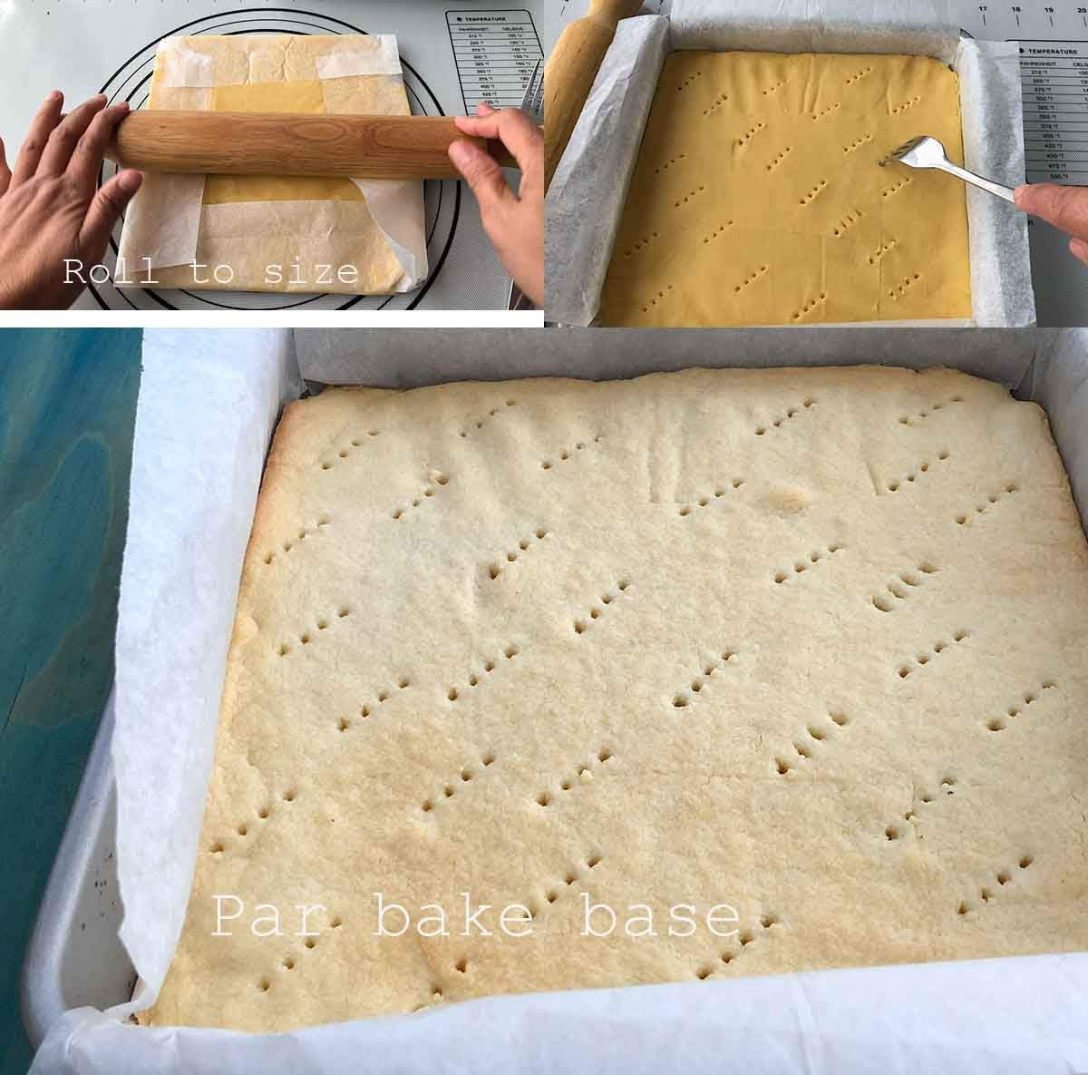 Lemon Curd shortbread base image