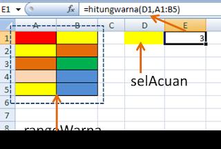contoh rumus hitung sel sesuai warna