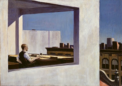 """Office in a Small City"" by Edward Hopper, 1953"