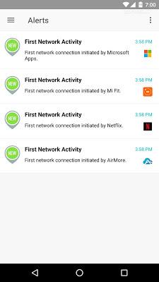 افضل طريقة لمعرفة استهلاك الانترنت للاندرويد مع تطبيق GlassWire