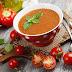Supa rece de rosii