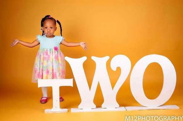 9ice releases adorable photos of his family as daughter turns 2