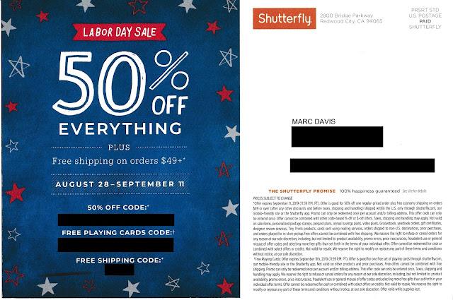 Shutterfly sale