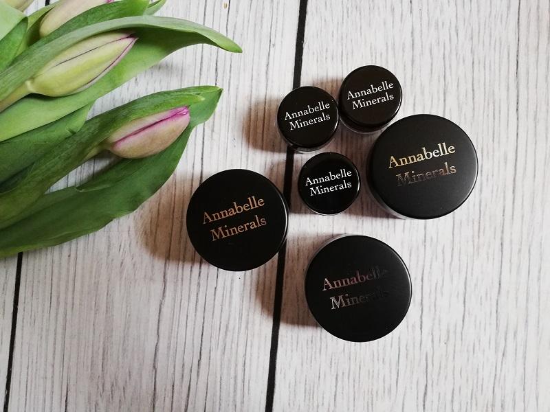 Annabelle Minerals mineralne cienie do powiek