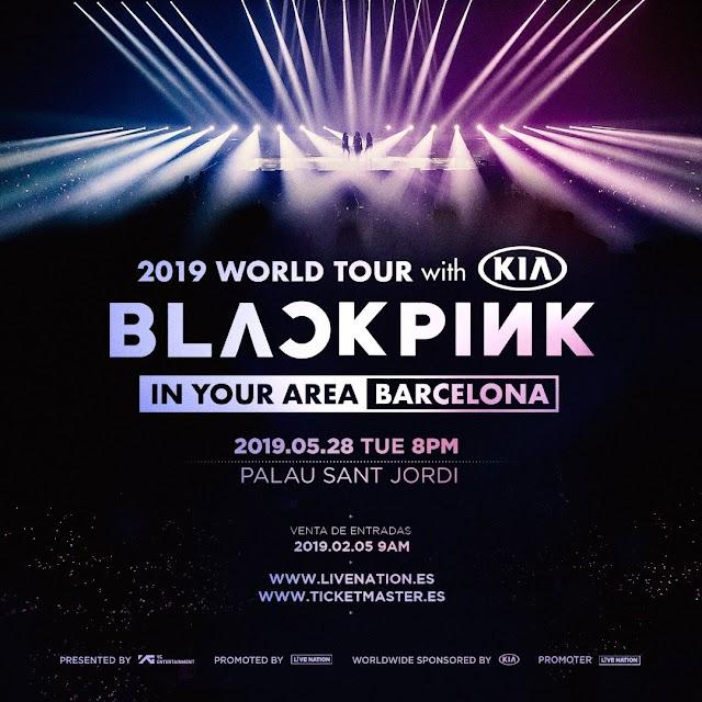 BLACKPINK actuará en Barcelona dentro de su gira Europea
