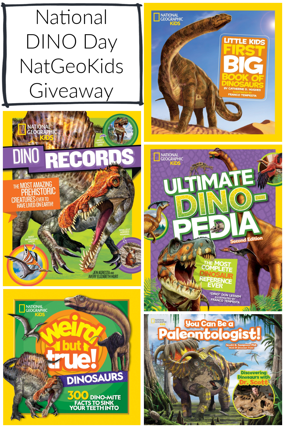 Celebrating National DINO Day with National Geographic Kids