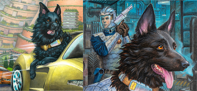 Left to right, Rex in the Citron Flash; then Shiv and Rex in the Five-Ten.