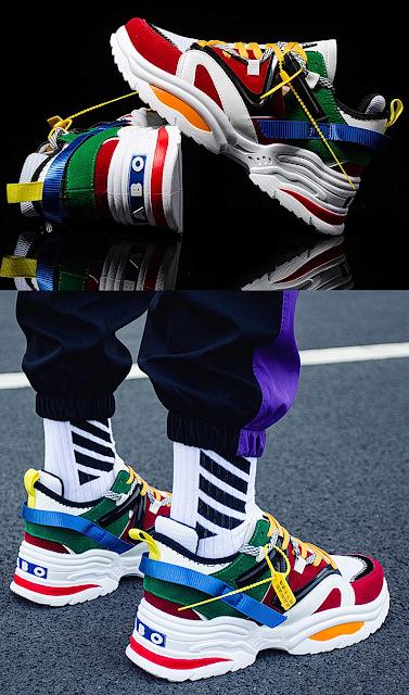 Fashion Men Sneakers Mens Casual Shoes