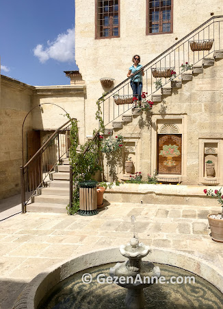 Fresco Konakları otelin ortamı, Ürgüp Nevşehir Kapadokya