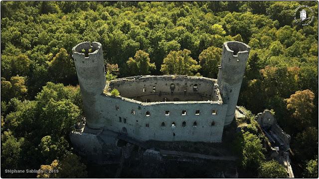 ANDLAU (67) - Le château-fort du Haut-Andlau (XIIIe siècle)