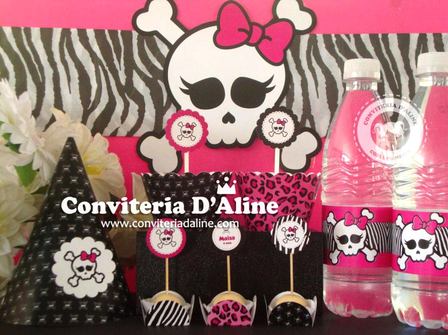 festa infantil monster high