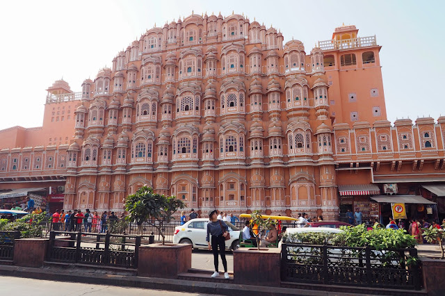 Rajasthan Jaipur india pink city must go places malaysian travel blogger cestlaje