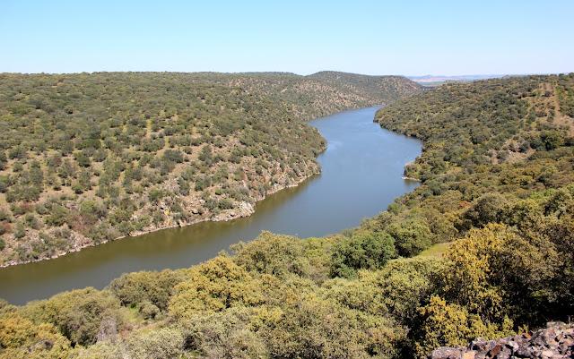 Río Tajo por la Vía Verde de la Jara