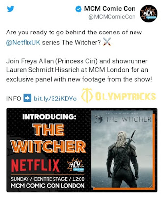 A new show for The Witcher next week