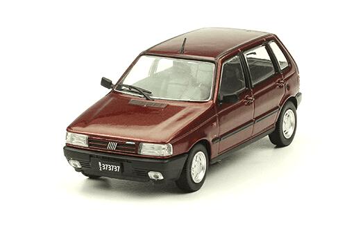 Fiat Uno SCR 1992 1:43, autos inolvidables argentinos 80 90
