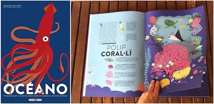 libros informativos naturaleza, fomentar conciencia medioambiental Océano Maeva Young