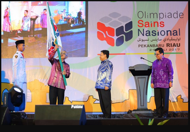 Nama Peraih Medali Dalam OSN 2017 di Riau
