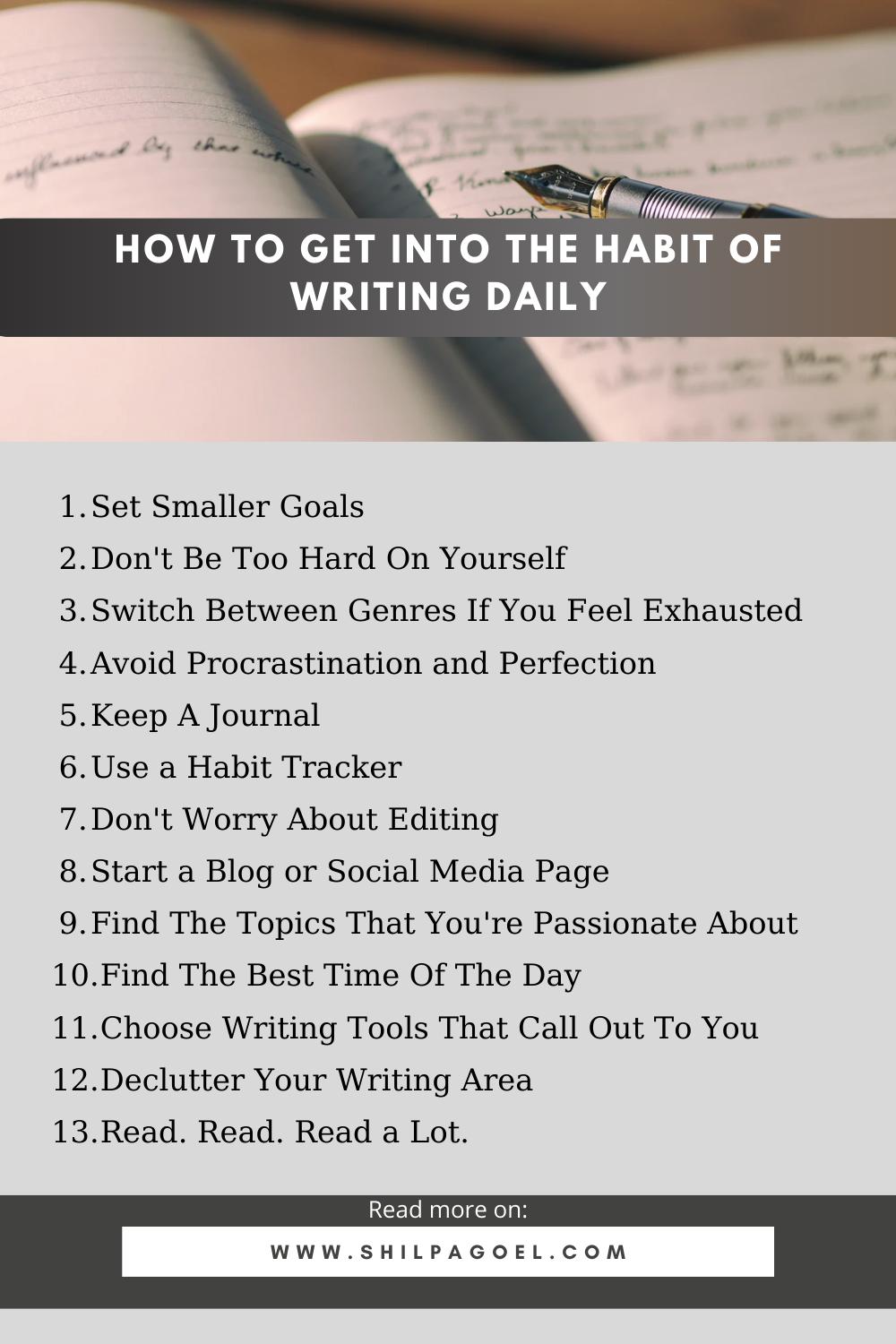 How To Get Into The Habit Of Writing Daily