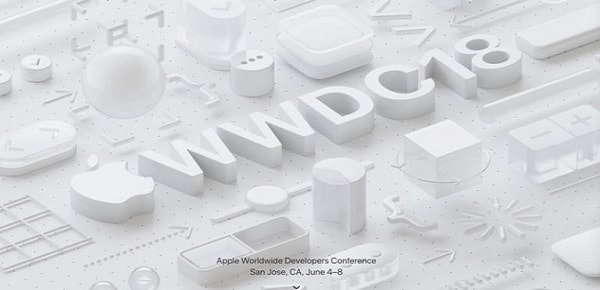 Apple announces the date of the WWDC 2018 Developers Conference from June 4 to 8