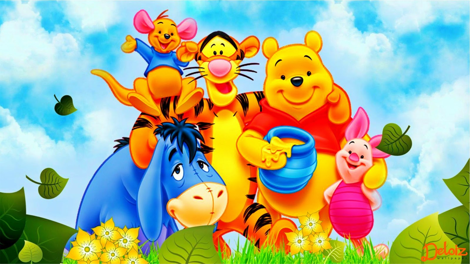 WALLPAPER ANDROID IPHONE Wallpaper Winnie The Pooh HD