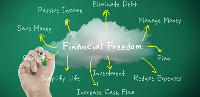 main stages of financial freedom
