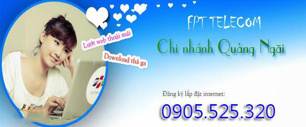 Lắp Mạng Internet FPT Huyện Sơn Tịnh