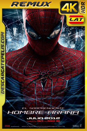 El Sorprendente Hombre Araña (2012) 4K HDR BDRemux Latino – Ingles