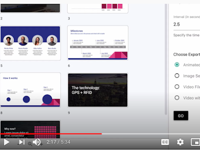 Here Is How to Easily Create GIFs and Videos from Your Google Slides Presentations