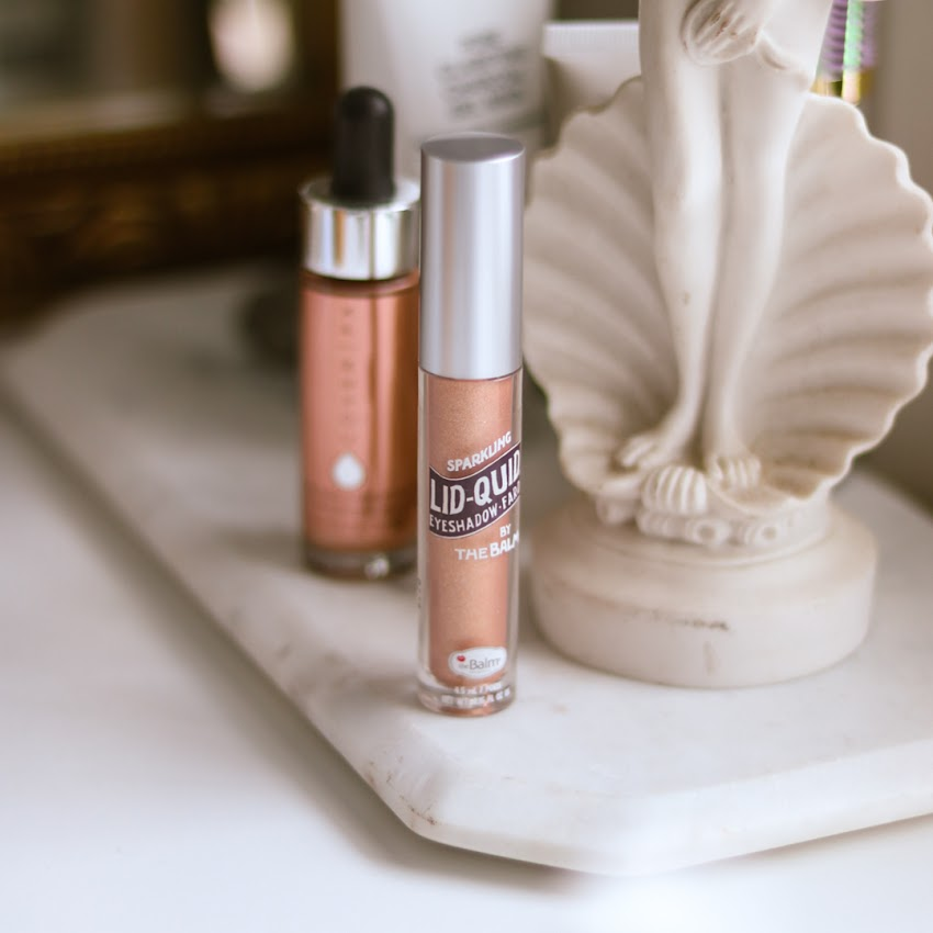 theBalm Lid-quid Sparking Liquid Eyeshadow - Rosé