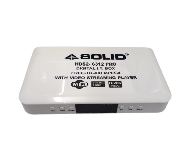 Solid HDS2-6312PRO Set-Top Box Review, Software, Chipset