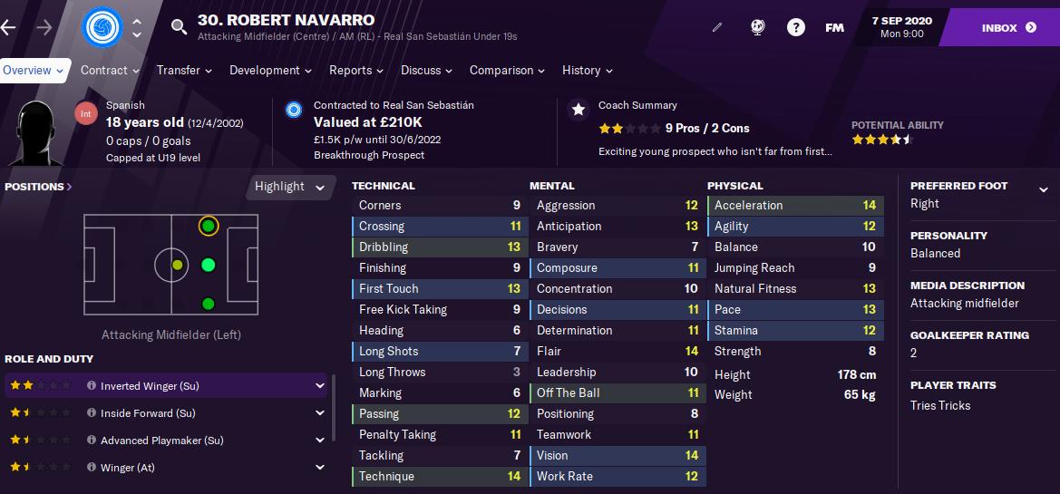FM21 Robert Navarro