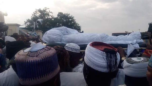 Photos : Osun State Governor Aregbesola's Mother Buried