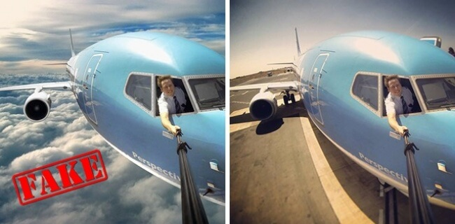 10 Photos That Became Viral But Are Actually Edited - But first, let me take a SELFIE!