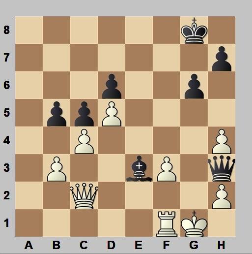 Partida de ajedrez Margalef - Menvielle, Campeonato de España por equipos 1960