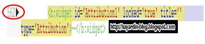 Cara Menghilangkan Tulisan Powered By Blogger Pada Blog