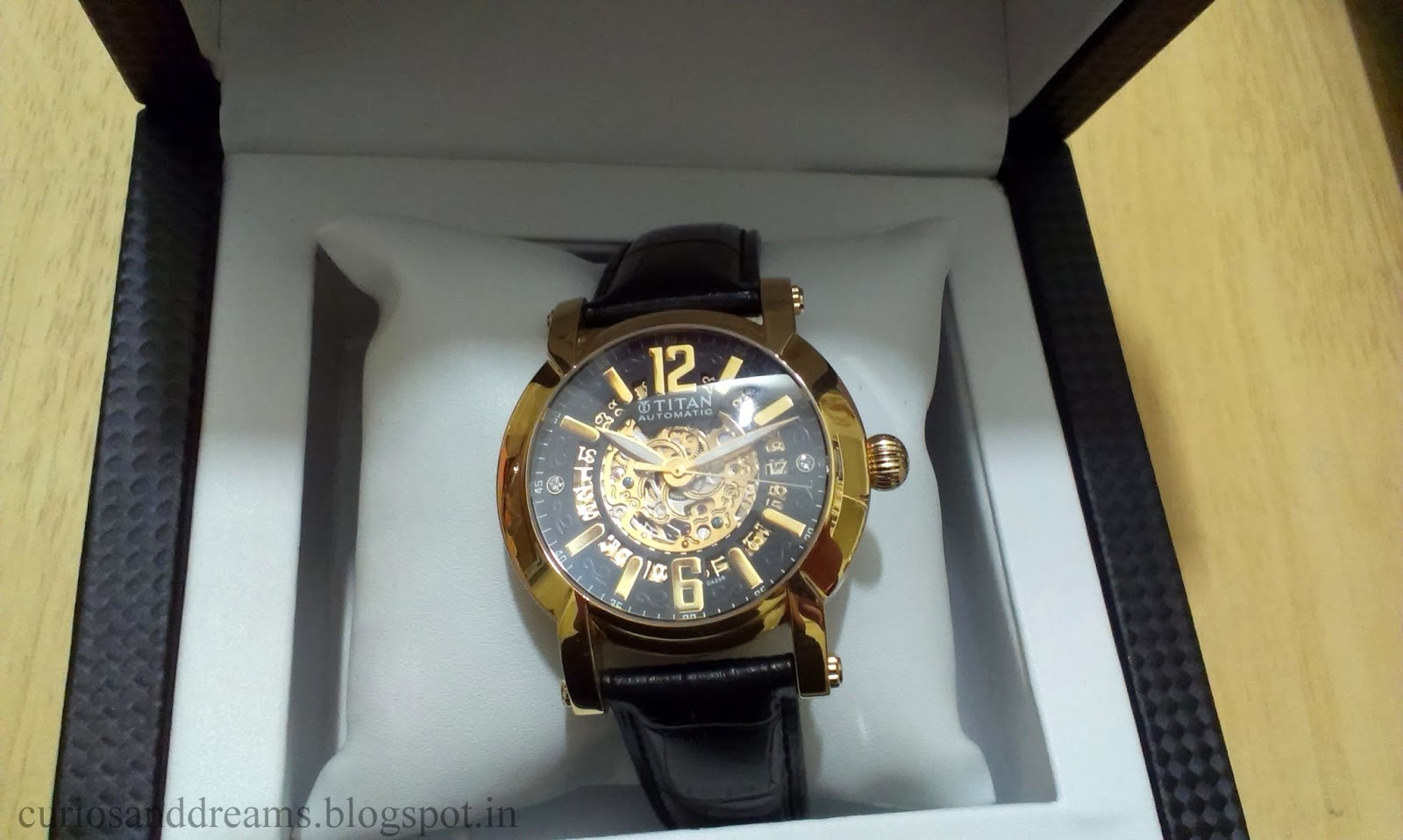 Titan Automatic Watch 9376WL01