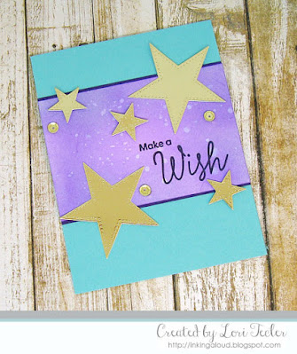 Make a Wish card-designed by Lori Tecler/Inking Aloud-stamps and dies from My Favorite Thingsa