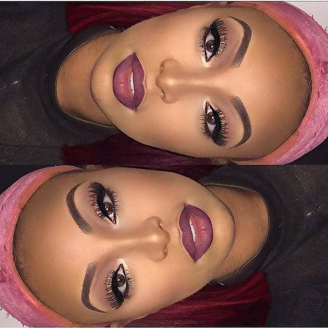 2019 Fascinating Makeup Ideas for Dark Skin