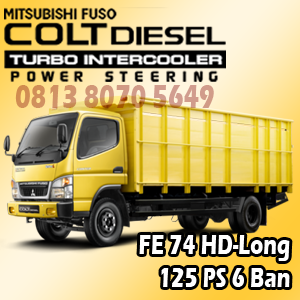 mitsubishi colt diesel canter fe74 HD-Long