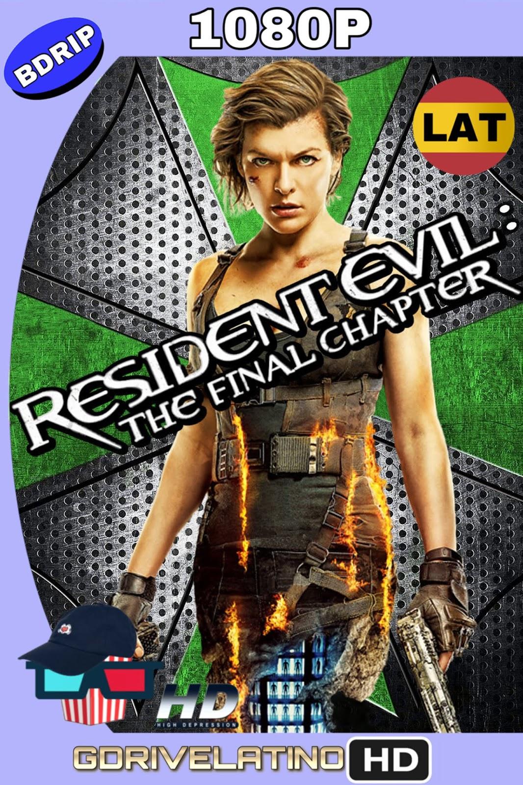 Resident Evil: Capítulo final (2016) BDRip 1080p (Latino-Inglés) MKV